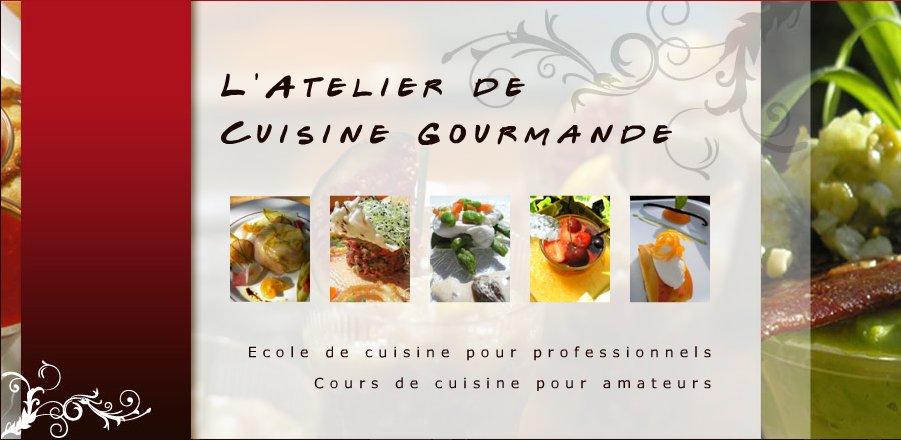 l 39 atelier de cuisine gourmande pr sentation